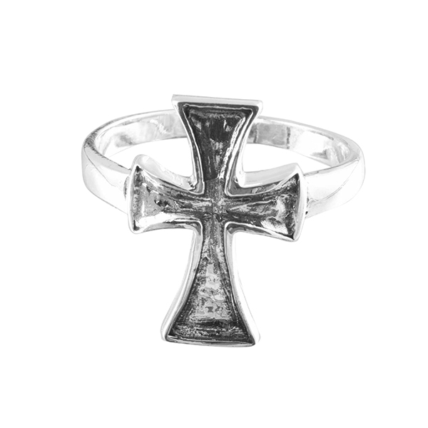 925 Sterling Silver Holy Christian Beautiful Design Ring