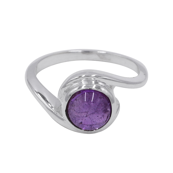 Fashion Silver Plated Gemstone Unisex Ring Jewelry For valentine Gift