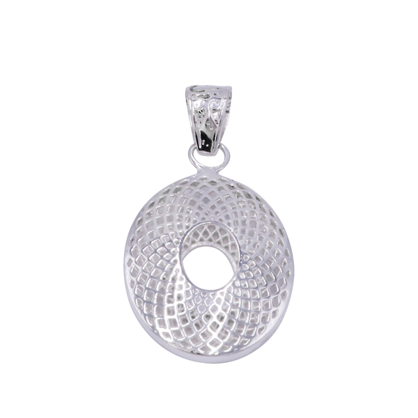 Jali Design Silver Plated Girls Women Jewelry For Gift