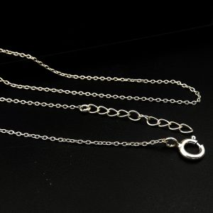 925 Silver 1.20 MM Anchor Chain Necklace